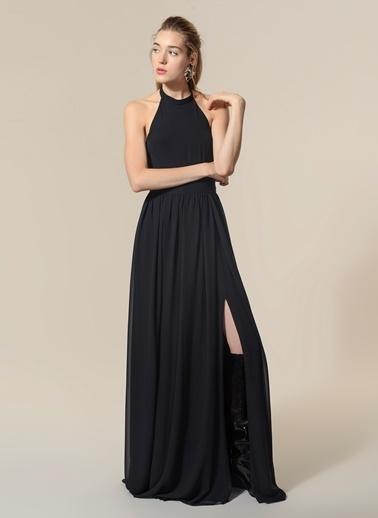 Agenda Uzun Abiye Elbise Siyah